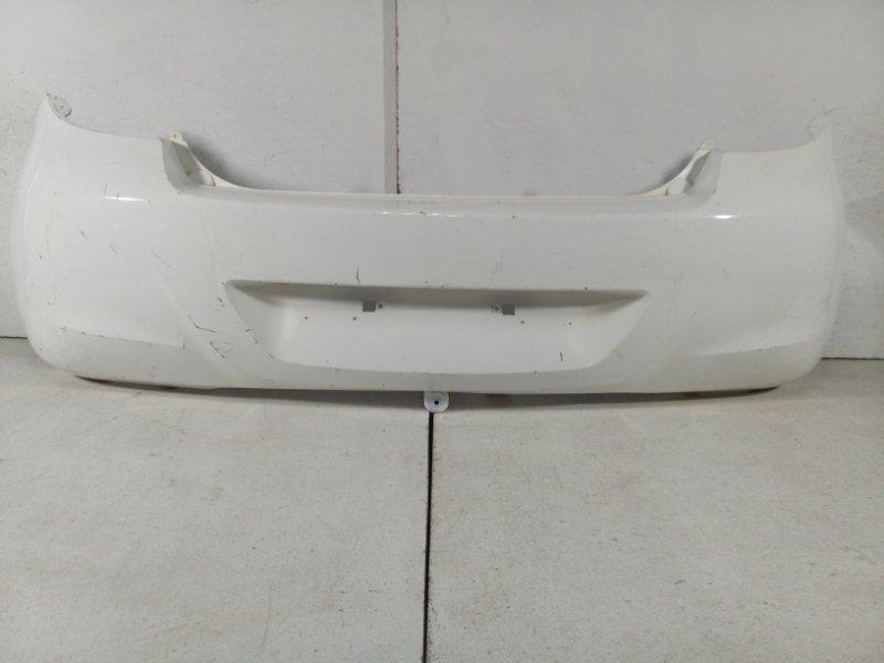 Бампер задний Hyundai I20 PB 2008 задний 866101J000 (б/у)