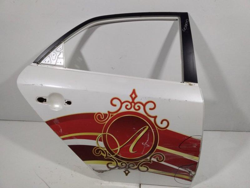 Дверь Kia Cerato 2 TD 2009 задняя правая 770041M010 (б/у)