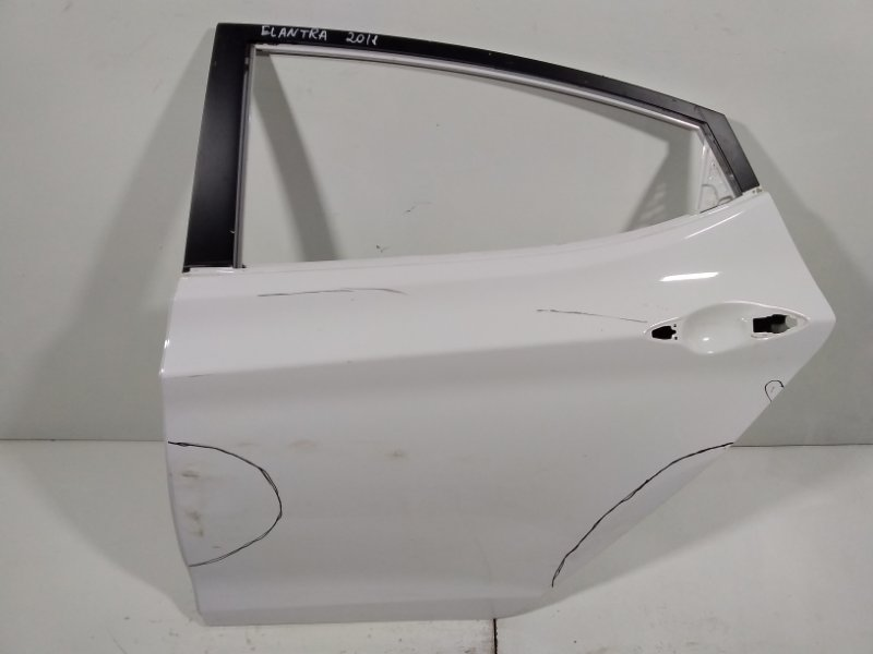 Дверь Hyundai Elantra 5 MD 2011 задняя левая 770033X001 (б/у)