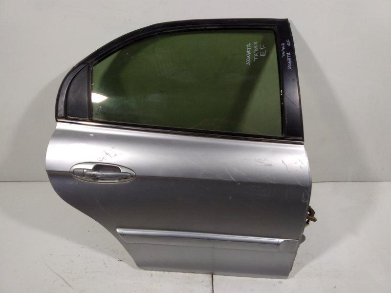 Дверь Hyundai Sonata 4 EF 2001 задняя правая 770043C020 (б/у)