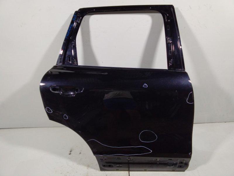 Дверь Volkswagen Touareg 2 NF 2010 задняя правая 7P0833056 (б/у)