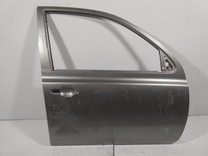 Дверь Nissan Micra K13K 2010 передняя правая 80100AX130 (б/у)