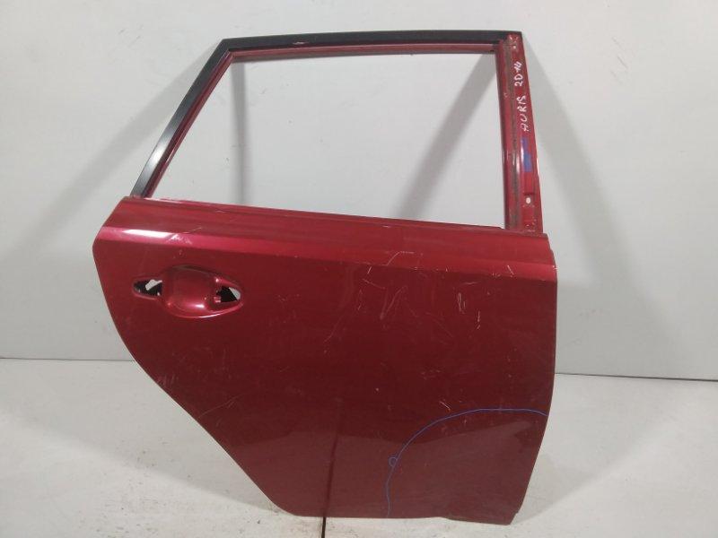 Дверь Toyota Auris 2 E180 2012 задняя правая 6700302380 (б/у)