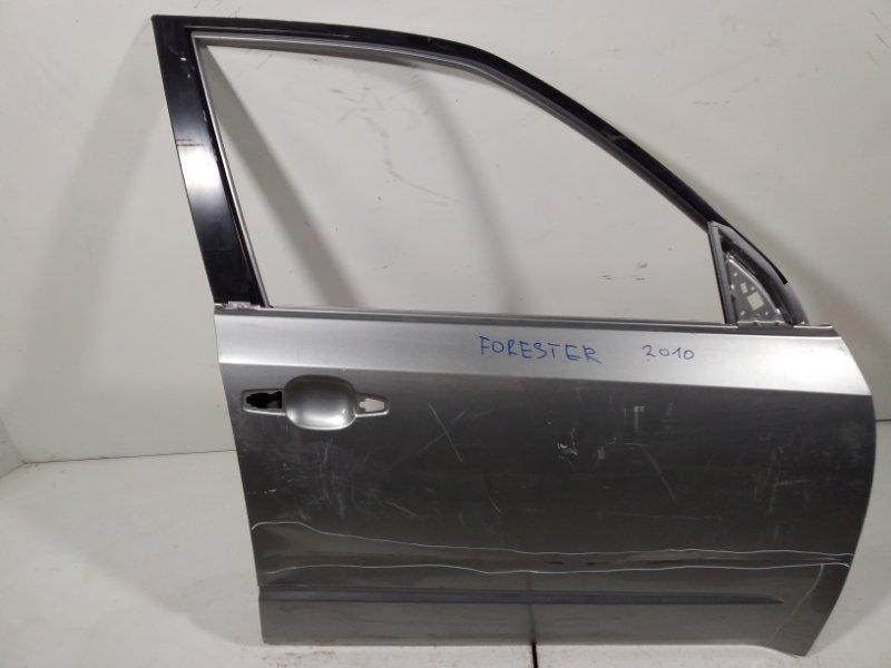 Дверь Subaru Forester SH 2008 передняя правая 60009SC0219P (б/у)