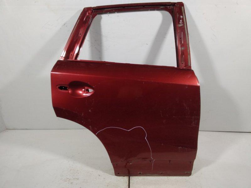 Дверь Mazda Cx-5 KE 2012 задняя правая KDY37202XA (б/у)