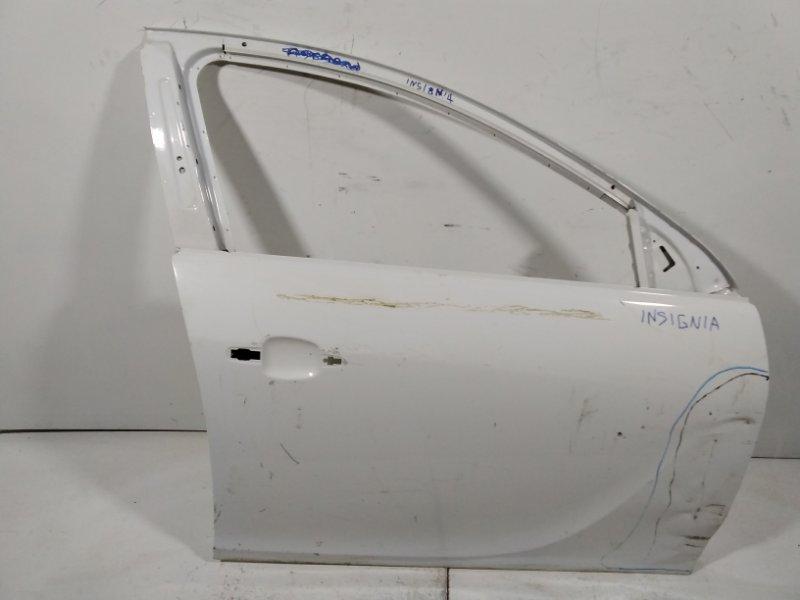 Дверь Opel Insignia 0G-A 2008 передняя правая 22863714 (б/у)