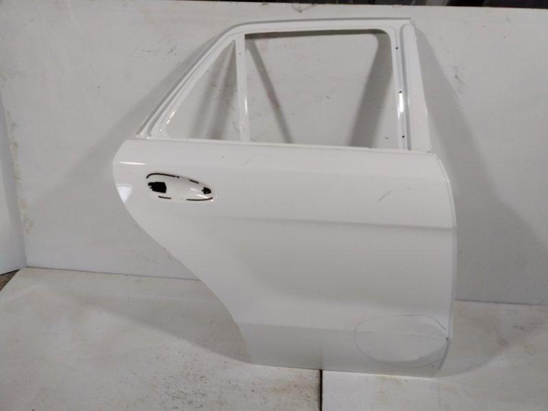 Дверь Mercedes Ml W166 2012> задняя правая A1667300205 (б/у)