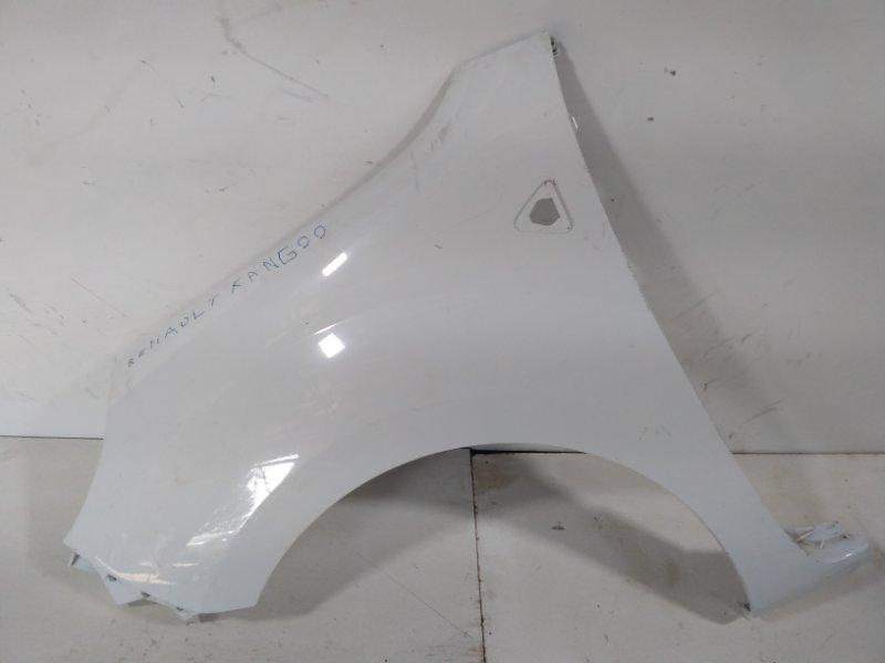 Крыло переднее Renault Kangoo KW0 2008 переднее левое 631011587R (б/у)