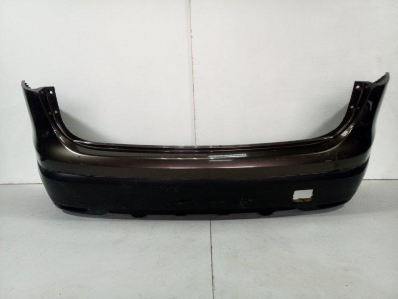 Бампер задний Nissan Qashqai 2 J11 2014> задний 850224EA0H (б/у)