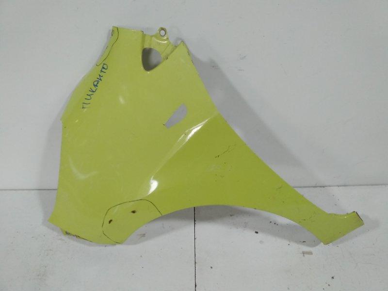 Крыло переднее Kia Picanto 2 TA 2011 переднее левое 663111Y330 (б/у)