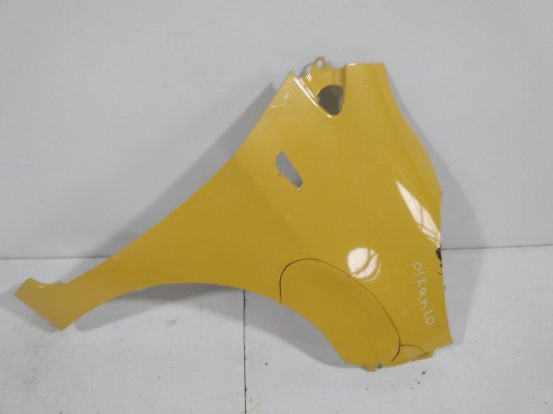 Крыло переднее Kia Picanto 2 TA 2011 переднее правое 663211Y310 (б/у)