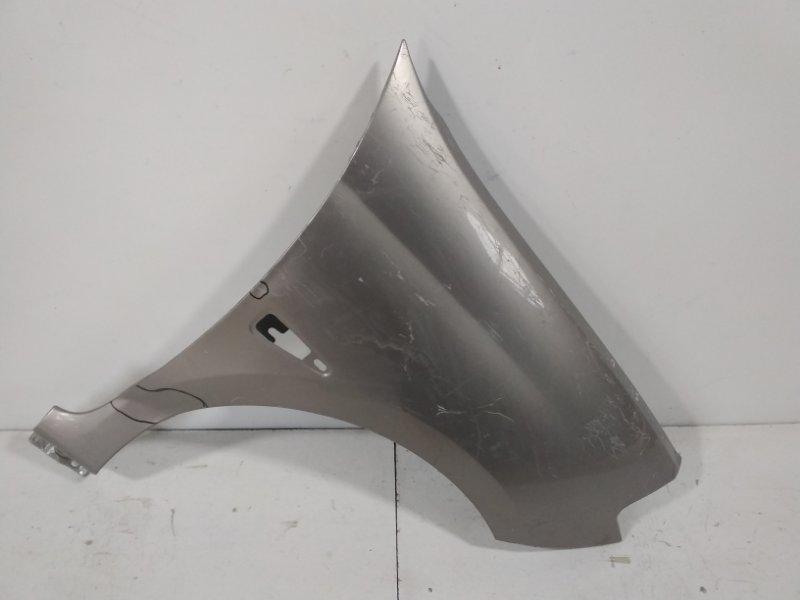 Крыло переднее Renault Symbol 2 LU01 2008 переднее правое 7782709525 (б/у)