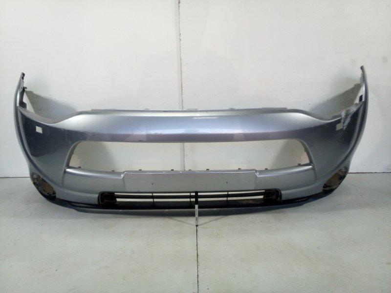 Бампер передний Mitsubishi Outlander 3 GF 2012> передний 6400G346 (б/у)