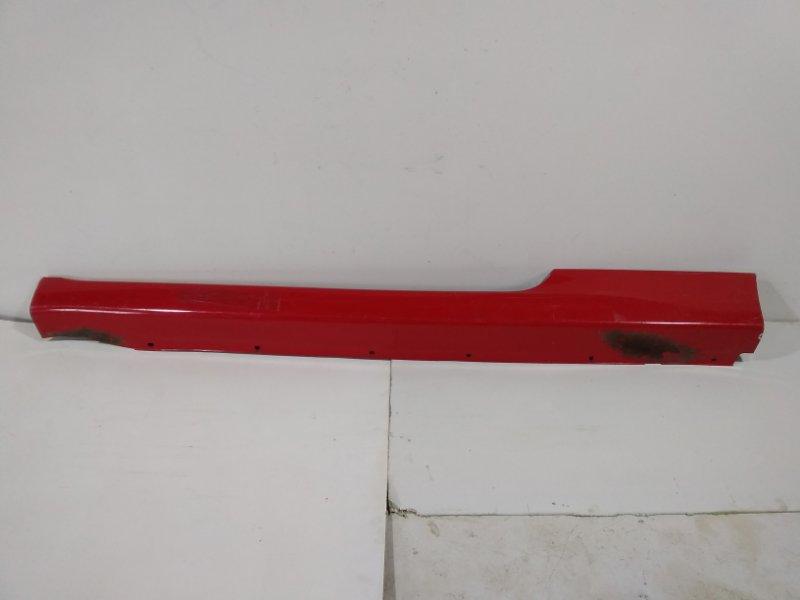 Порог Chevrolet Aveo T250 T250 2005 левый (б/у)