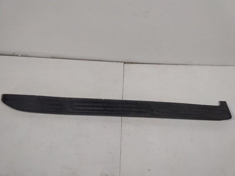 Накладка на подножку Toyota Land Cruiser Prado 150 J150 2009> левая 5177260180 (б/у)