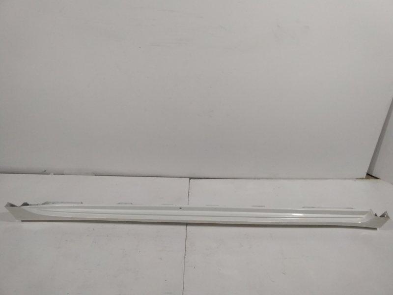 Накладка на порог (наружная) Toyota Camry 50 V50 2014 правая 7585133913 (б/у)