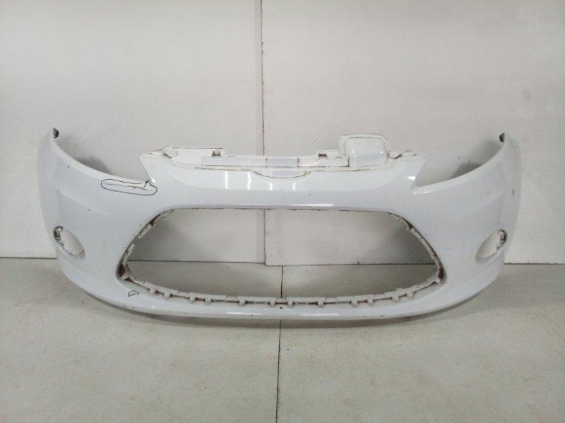Бампер передний Ford Fiesta CB1 2008 передний 1568813 (б/у)