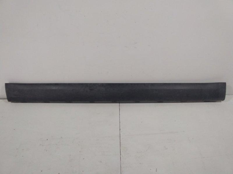 Накладка на порог (наружная) Skoda Yeti 5L 2009 правая 5L0853856C9B9 (б/у)
