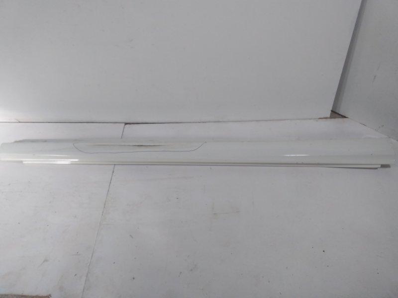 Накладка на порог (наружная) Mercedes B W246 2011> правая 24669806549999 (б/у)