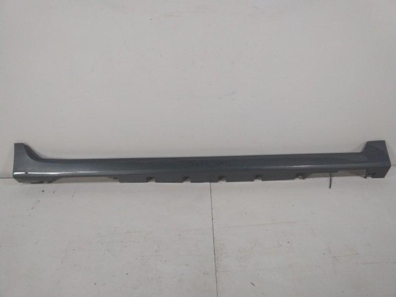 Накладка на порог (наружная) Nissan Teana J32 2008 правая 76850KA90A (б/у)