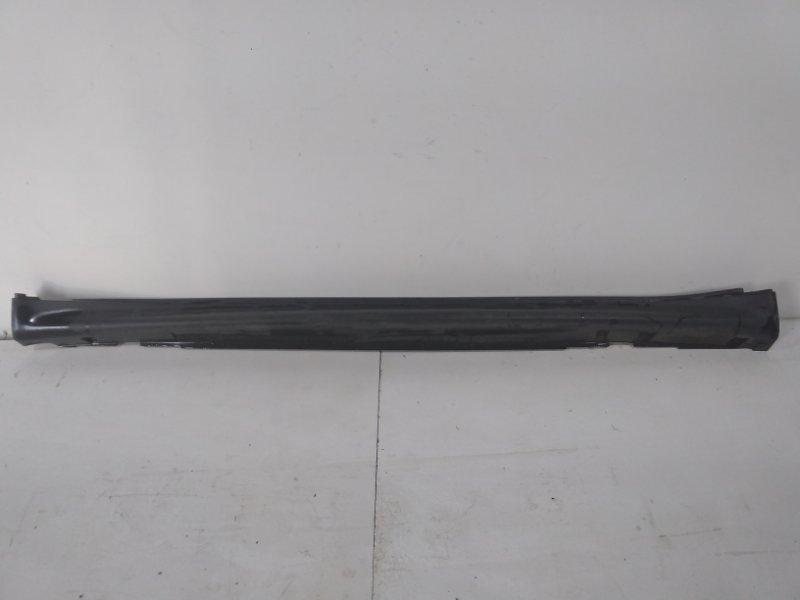 Накладка на порог (наружная) Nissan Juke F15 2011> левая 768511KA6A (б/у)
