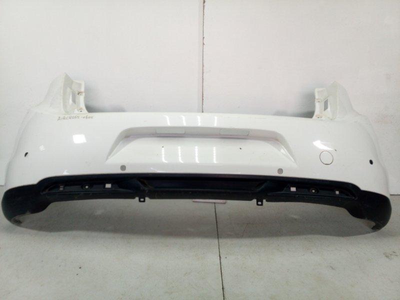 Бампер задний Citroen C4 Aircross B 2012 задний 1608425380 (б/у)