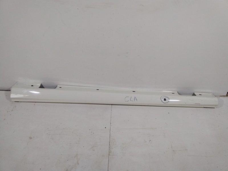 Накладка на порог (наружная) Mercedes B W246 2012 левая A24669805549999 (б/у)