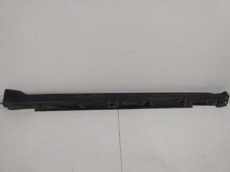 Накладка на порог (наружная) Subaru Xv GP 2011 правая 91112FJ141 (б/у)
