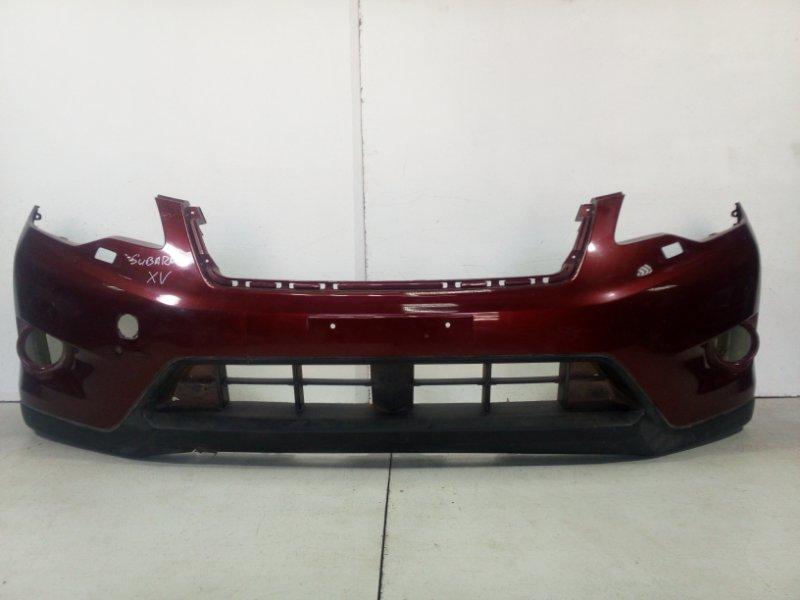 Бампер передний Subaru Xv GP 2011 передний 57702FJ030 (б/у)