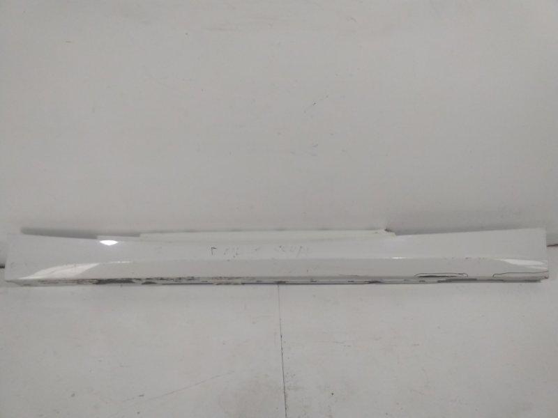 Накладка на порог (наружняя) Bmw 1-Серия E87 2004 левая 51777046345 (б/у)