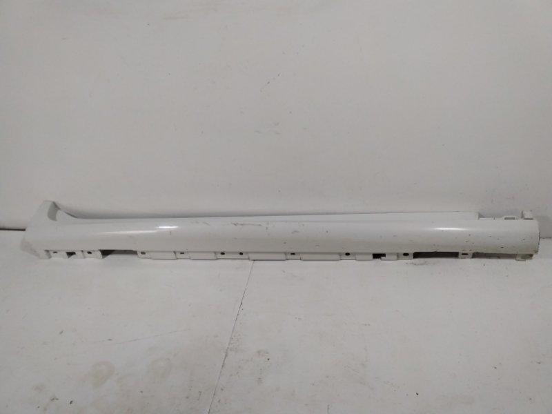 Накладка на порог (наружная) Bmw X3 F25 2010 правая 51778052076 (б/у)