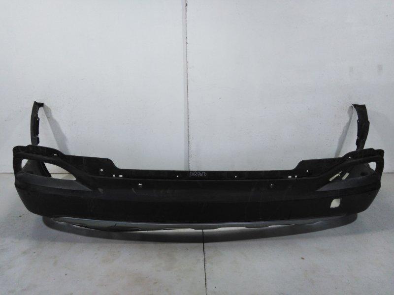 Бампер задний (нижняя часть) Kia Sorento 3 Prime UM 2014 задний 86612C5010 (б/у)
