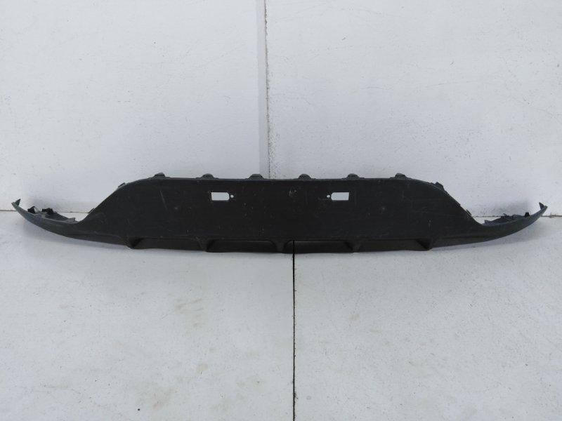 Накладка заднего бампера Kia Rio 3 QB 2011 задняя 866124Y700 (б/у)
