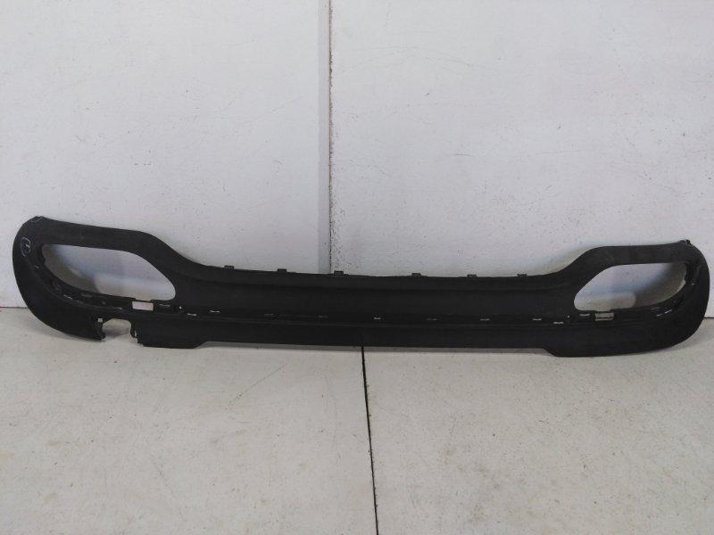 Накладка заднего бампера Mercedes E W212 2012 задняя A2128553038 (б/у)