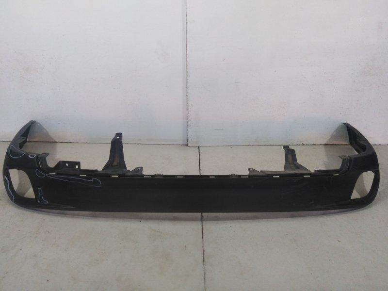 Бампер задний (нижняя часть) Toyota Highlander 3 XU50 2013 задний 521690E070 (б/у)