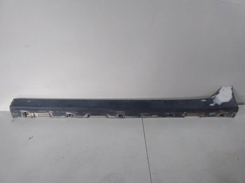 Накладка на порог (наружная) Mazda 6 GH 2007 левая GS1D51P50C74 (б/у)