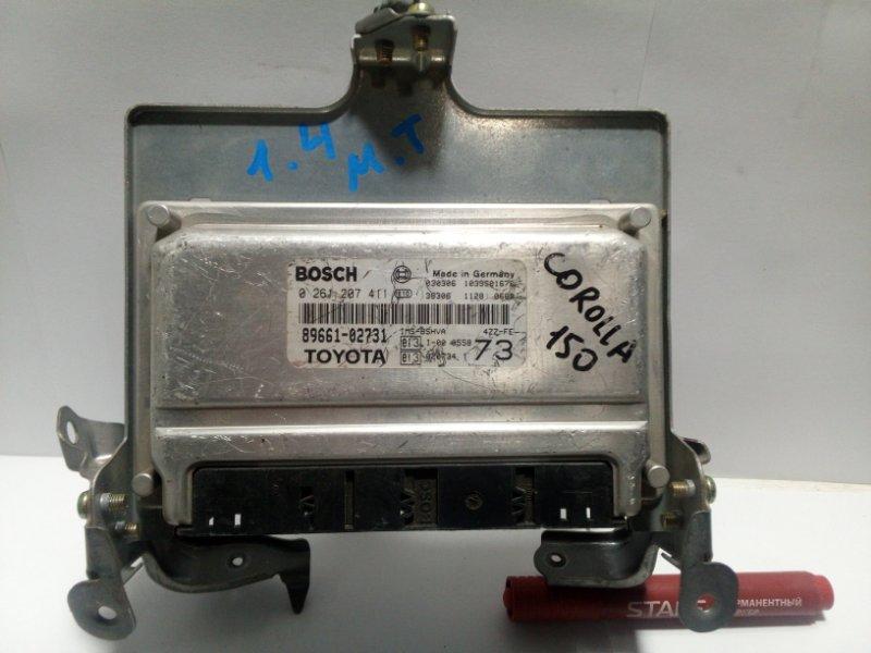 Блок управления двигателем Toyota Corolla 120 E120 2001 8966102731 (б/у)