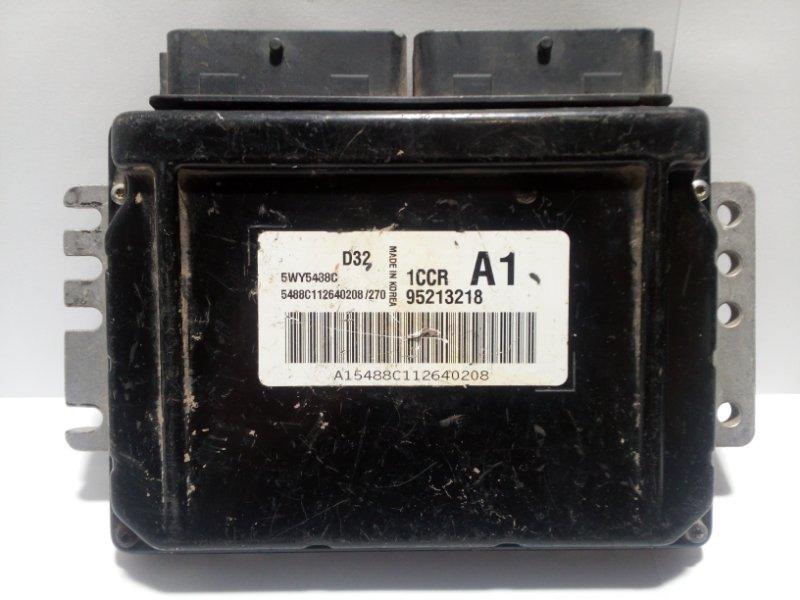 Блок управления двигателем Daewoo Matiz KLYA 1998 95213218 (б/у)