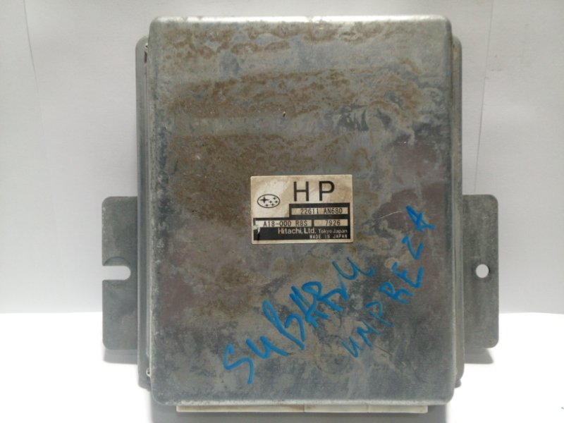 Блок управления двигателем Subaru Impreza G12 2007 22611AN680 (б/у)