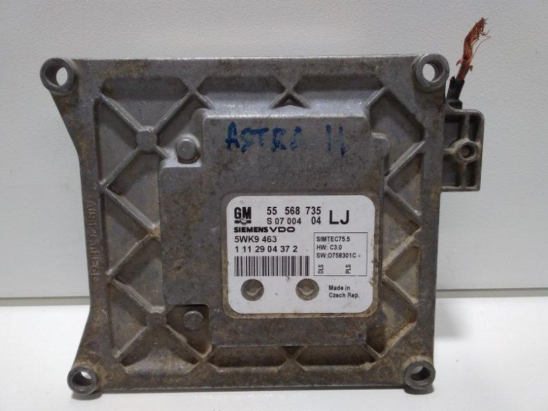 Блок управления двигателем Opel Zafira B A05 2005 55568735 (б/у)