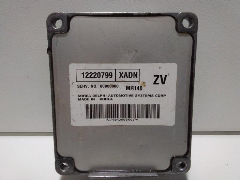 Блок управления двигателем Chevrolet Lanos T100 2004 12220799 (б/у)