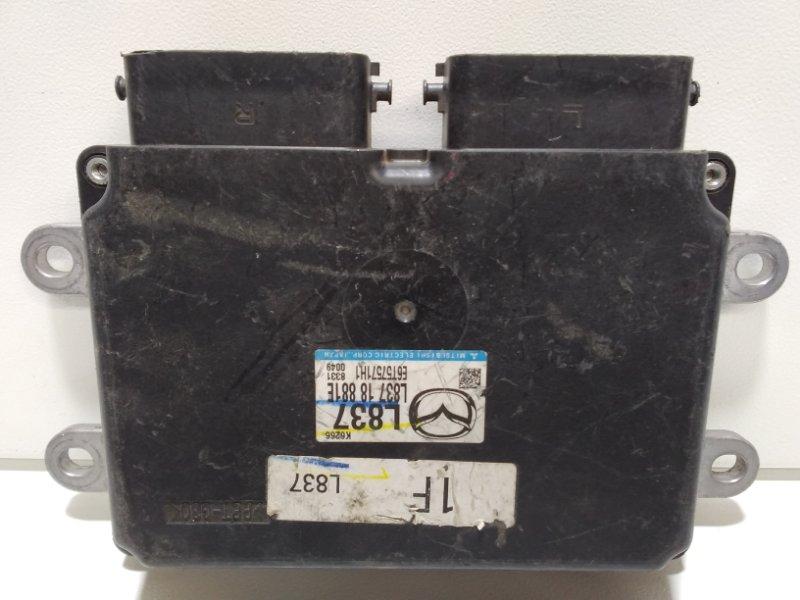 Блок управления двигателем Mazda 6 GH 2007 L83718881E (б/у)