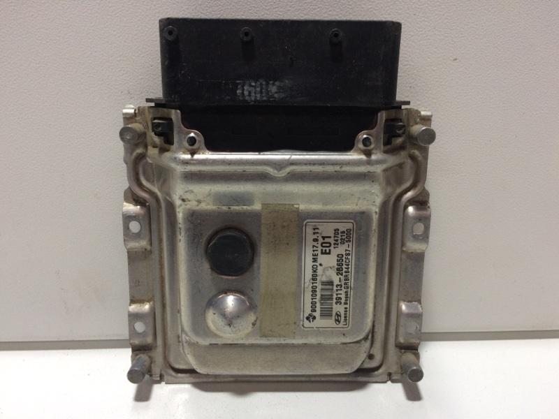 Блок управления двигателем Hyundai Solaris 1 RB 2010 391132B650 (б/у)