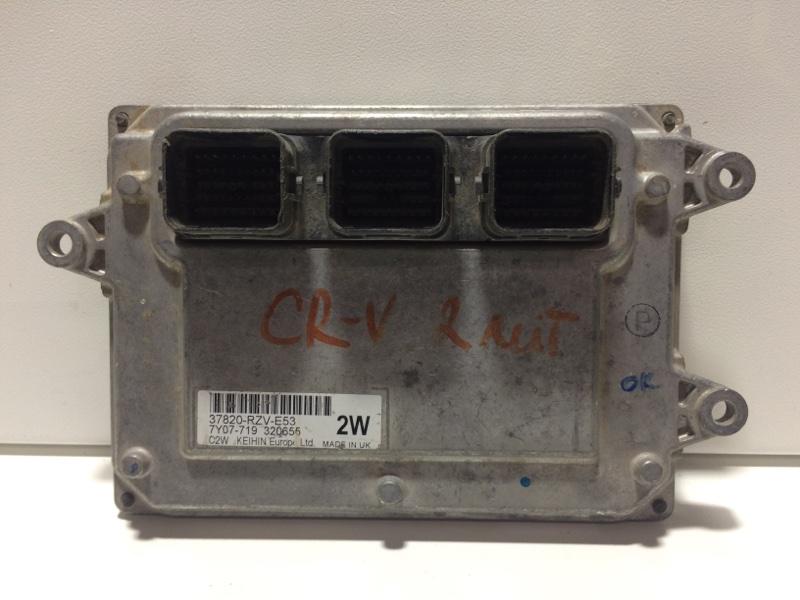 Блок управления двигателем Honda Cr-V RB 2007 37820RZVE53 (б/у)