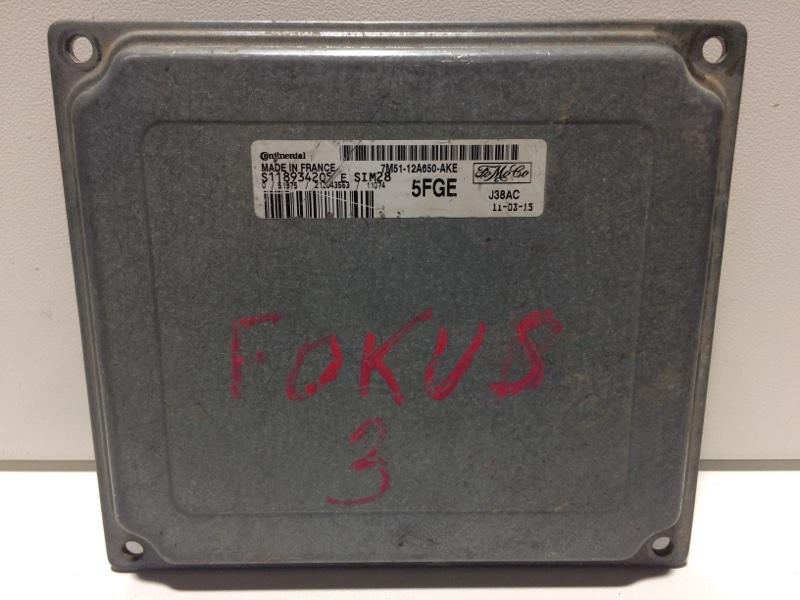 Блок управления двигателем Ford Focus 2 CB4 2008 S118934205 (б/у)