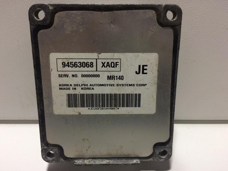 Блок управления двигателем Daewoo Nexia 1995 94563068 (б/у)
