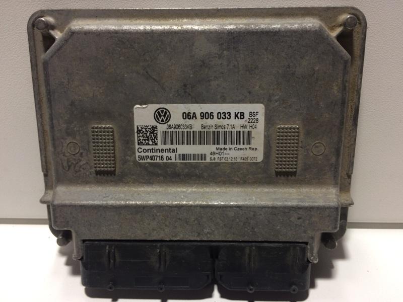 Блок управления двигателем Skoda Octavia A5 A5 2008 06A906033KB (б/у)