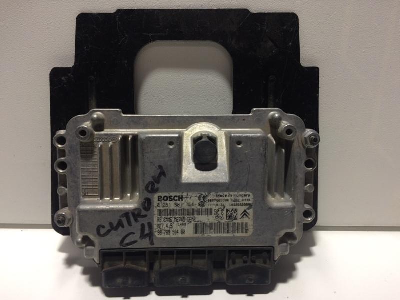 Блок управления двигателем Citroen C4 2012> 9678950480 (б/у)