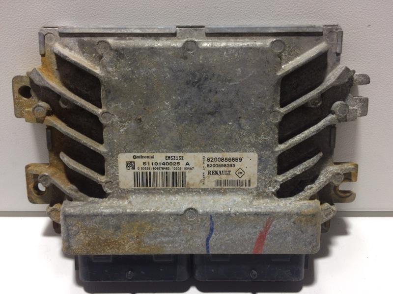 Блок управления двигателем Renault Sandero 1 BS 2009 8200856659 (б/у)