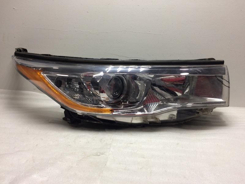 Фара правая Toyota Highlander 3 XU50 2013> передняя правая 811100E200 (б/у)